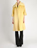 Lilli Ann Vintage Banana Yellow Wool Mohair Swing Coat - Amarcord Vintage Fashion  - 5