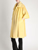 Lilli Ann Vintage Banana Yellow Wool Mohair Swing Coat - Amarcord Vintage Fashion  - 7