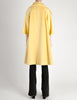 Lilli Ann Vintage Banana Yellow Wool Mohair Swing Coat - Amarcord Vintage Fashion  - 9