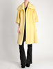 Lilli Ann Vintage Banana Yellow Wool Mohair Swing Coat - Amarcord Vintage Fashion  - 2