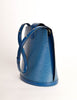 Louis Vuitton Vintage Toledo Blue Epi Leather Cluny Shoulder Bag