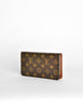 Louis Vuitton Vintage Classic Monogram Wallet - Amarcord Vintage Fashion  - 4