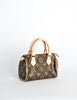 Louis Vuitton Monogram Mini Sac Crossbody Bag - Amarcord Vintage Fashion  - 4