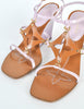 Louis Vuitton Brown and Orchid Strappy Wedge Sandals - Amarcord Vintage Fashion  - 7