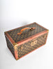 Louis Vuitton Vintage Monogram Train Case - Amarcord Vintage Fashion  - 5