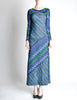 Missoni Vintage Colorful Metallic Maxi Dress - Amarcord Vintage Fashion  - 2