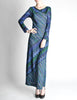 Missoni Vintage Colorful Metallic Maxi Dress - Amarcord Vintage Fashion  - 3