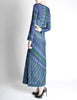 Missoni Vintage Colorful Metallic Maxi Dress - Amarcord Vintage Fashion  - 4