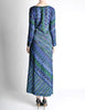 Missoni Vintage Colorful Metallic Maxi Dress - Amarcord Vintage Fashion  - 8