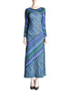 Missoni Vintage Colorful Metallic Maxi Dress - Amarcord Vintage Fashion  - 1