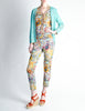 Missoni Vintage Floral Knit Three Piece Set - Amarcord Vintage Fashion  - 5