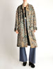 Missoni Vintage Grey Multicolor Patterned Knit Mohair Wool Coat - Amarcord Vintage Fashion  - 4