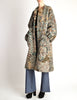 Missoni Vintage Grey Multicolor Patterned Knit Mohair Wool Coat - Amarcord Vintage Fashion  - 5