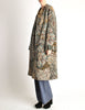 Missoni Vintage Grey Multicolor Patterned Knit Mohair Wool Coat - Amarcord Vintage Fashion  - 6