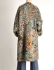 Missoni Vintage Grey Multicolor Patterned Knit Mohair Wool Coat - Amarcord Vintage Fashion  - 8