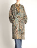 Missoni Vintage Grey Multicolor Patterned Knit Mohair Wool Coat - Amarcord Vintage Fashion  - 3