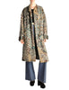 Missoni Vintage Grey Multicolor Patterned Knit Mohair Wool Coat - Amarcord Vintage Fashion  - 1