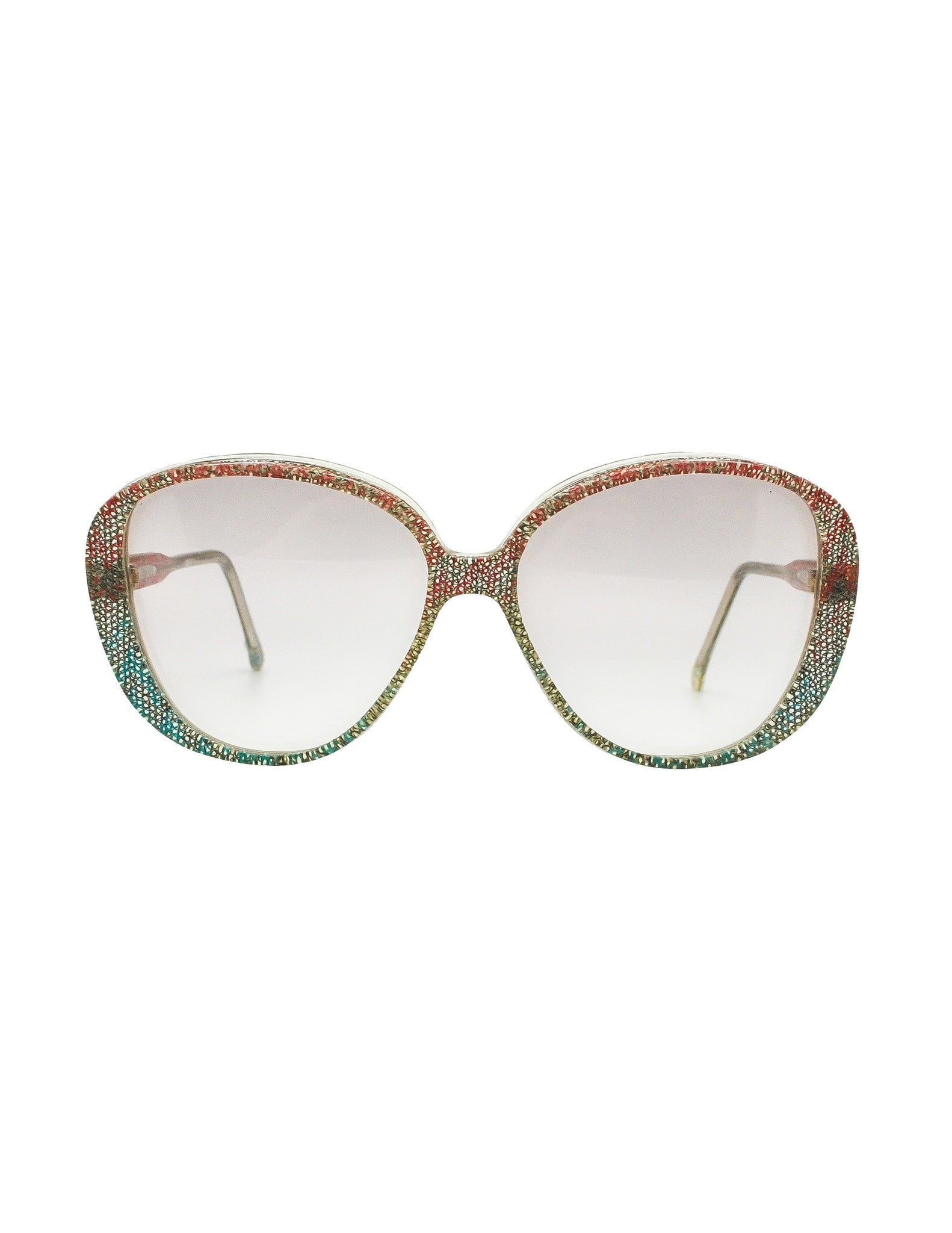 Missoni Vintage Pastel Lace Sunglasses - Amarcord Vintage Fashion  - 1