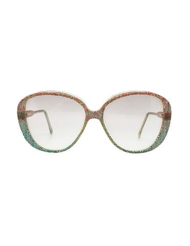 Missoni Vintage Pastel Lace Sunglasses
