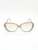 Missoni Vintage Pastel Lace Sunglasses - Amarcord Vintage Fashion  - 5