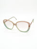 Missoni Vintage Pastel Lace Sunglasses - Amarcord Vintage Fashion  - 2