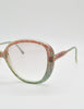 Missoni Vintage Pastel Lace Sunglasses - Amarcord Vintage Fashion  - 7