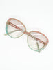 Missoni Vintage Pastel Lace Sunglasses - Amarcord Vintage Fashion  - 4