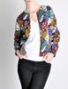 Missoni Vintage 'Patchwork' Print Knit Cardigan Sweater - Amarcord Vintage Fashion  - 5