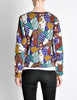 Missoni Vintage 'Patchwork' Print Knit Cardigan Sweater - Amarcord Vintage Fashion  - 7