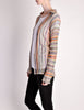 Missoni Vintage Rainbow Open Knit Cardigan - Amarcord Vintage Fashion  - 6