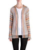 Missoni Vintage Rainbow Open Knit Cardigan - Amarcord Vintage Fashion  - 1
