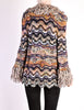 Missoni Vintage Chunky Multicolor Shaggy Collar Cardigan Sweater - Amarcord Vintage Fashion  - 7