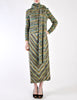 Missoni Vintage Green Patterned Knit Sweater, Scarf and Skirt Ensemble Set - Amarcord Vintage Fashion  - 7
