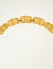 Monet Vintage Gold Modernist Necklace - Amarcord Vintage Fashion  - 6