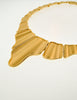 Monet Vintage Gold Modernist Necklace - Amarcord Vintage Fashion  - 5