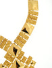 Monet Vintage Pas d'or Gold Geometric Necklace - Amarcord Vintage Fashion  - 3