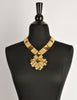 Monet Vintage Pas d'or Gold Geometric Necklace - Amarcord Vintage Fashion  - 5