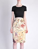 Moschino Vintage Beige Card Suits Print Skirt - Amarcord Vintage Fashion  - 5