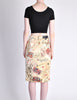 Moschino Vintage Beige Card Suits Print Skirt - Amarcord Vintage Fashion  - 6
