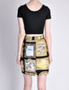Moschino Vintage Black Picture Frames Print Skirt - Amarcord Vintage Fashion  - 6