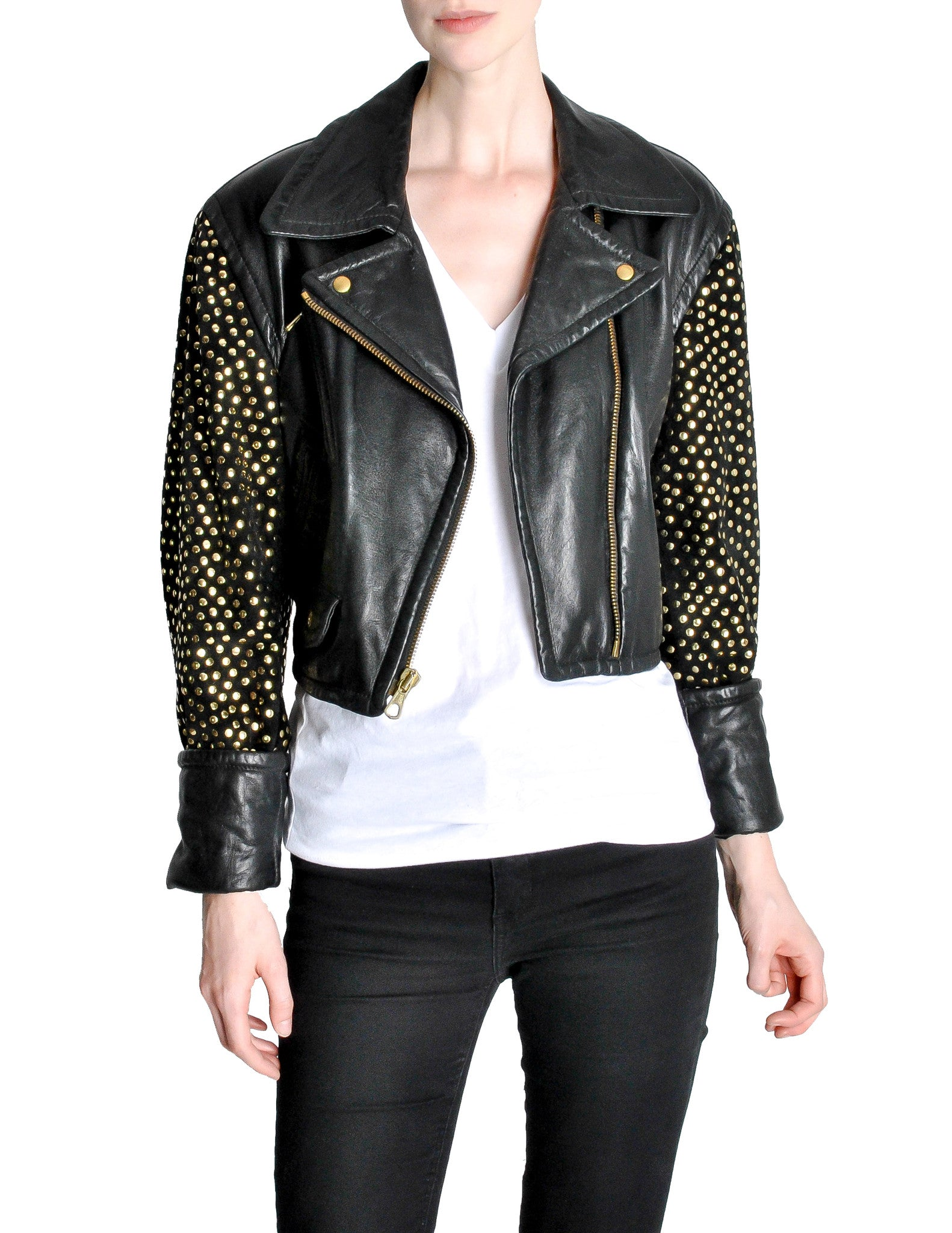 Moschino leather jacket