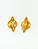 Moschino Vintage Gold Star Saturn Planet Earrings - Amarcord Vintage Fashion  - 6