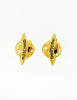 Moschino Vintage Gold Star Saturn Planet Earrings - Amarcord Vintage Fashion  - 5