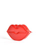 Moschino Vintage Red Patent Leather Lips Clutch Bag - Amarcord Vintage Fashion  - 2