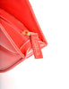 Moschino Vintage Red Patent Leather Lips Clutch Bag - Amarcord Vintage Fashion  - 6