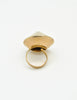 Napier Vintage Gold Conic Spike Ring - Amarcord Vintage Fashion  - 6