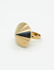 Napier Vintage Gold Conic Spike Ring - Amarcord Vintage Fashion  - 3