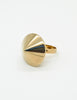 Napier Vintage Gold Conic Spike Ring - Amarcord Vintage Fashion  - 5