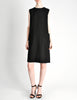 Norman Norell Vintage Black Wool Shift Dress - Amarcord Vintage Fashion  - 3