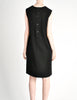 Norman Norell Vintage Black Wool Shift Dress - Amarcord Vintage Fashion  - 5